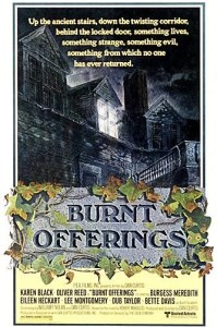 Burnt offerings movie poster 199x300 Top Ten Haunted House Films: Burnt Offerings (1976)