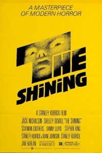 The Shining poster 200x300 Top Ten Haunted House Films: The Shining (1980)